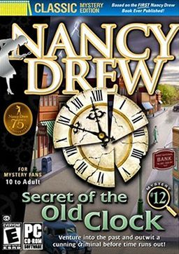 Nancy Drew. Loved these computer games. And the books :)