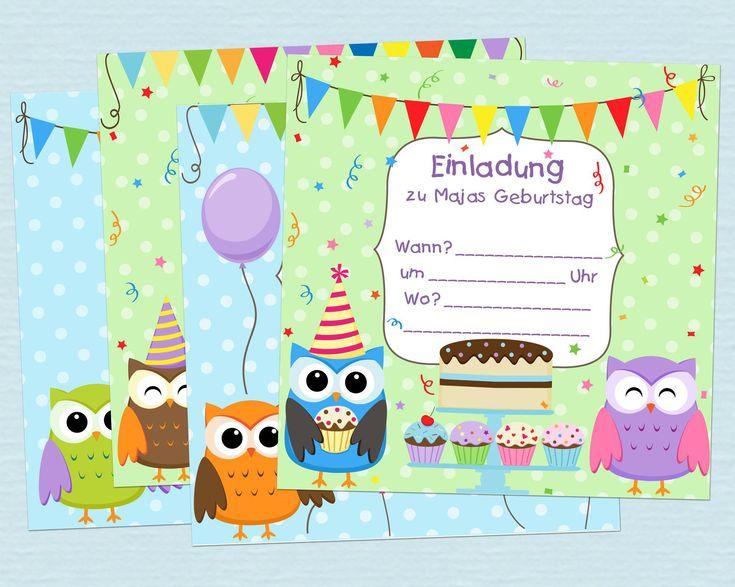 the 25+ best einladungskarten kindergeburtstag zum ausdrucken, Einladungsentwurf