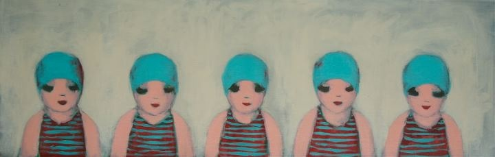 'Swimming Team' by Ayse Wilson