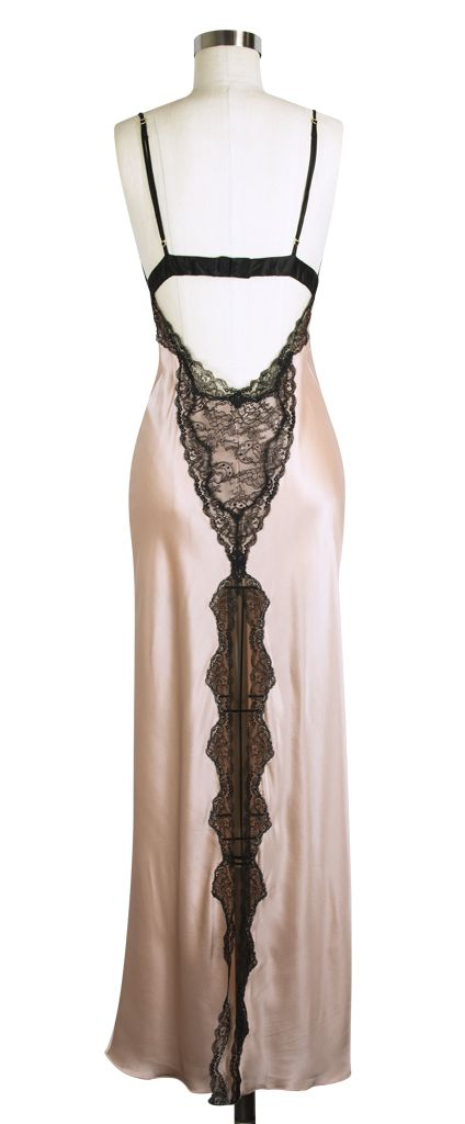 The back of the Jane Woolrich Lace Nightgown!! Lovely!