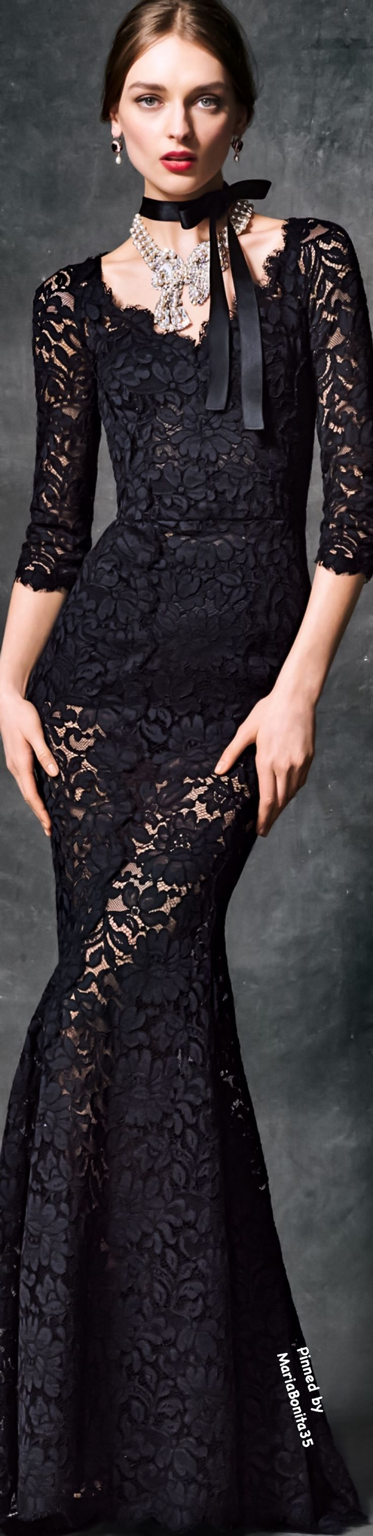 Dolce and Gabbana Fall-Winter 2016/17 Evening Collection