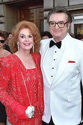 Steve Allen & Wife Jayne Meadows in 1987.