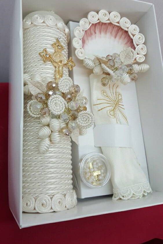 Hey, I found this really awesome Etsy listing at https://www.etsy.com/listing/276476588/christening-baptism-decorated-candle