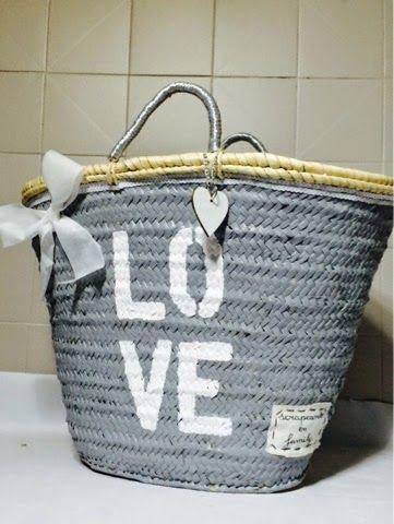 Capazo Love | Aprender manualidades es facilisimo.com