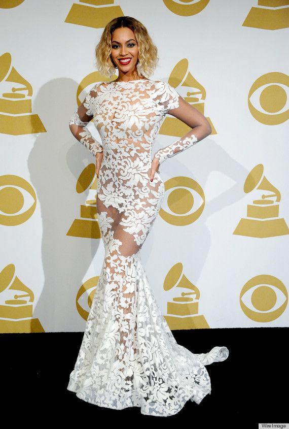 Grammy Awards: Beyonce in Michael Costello