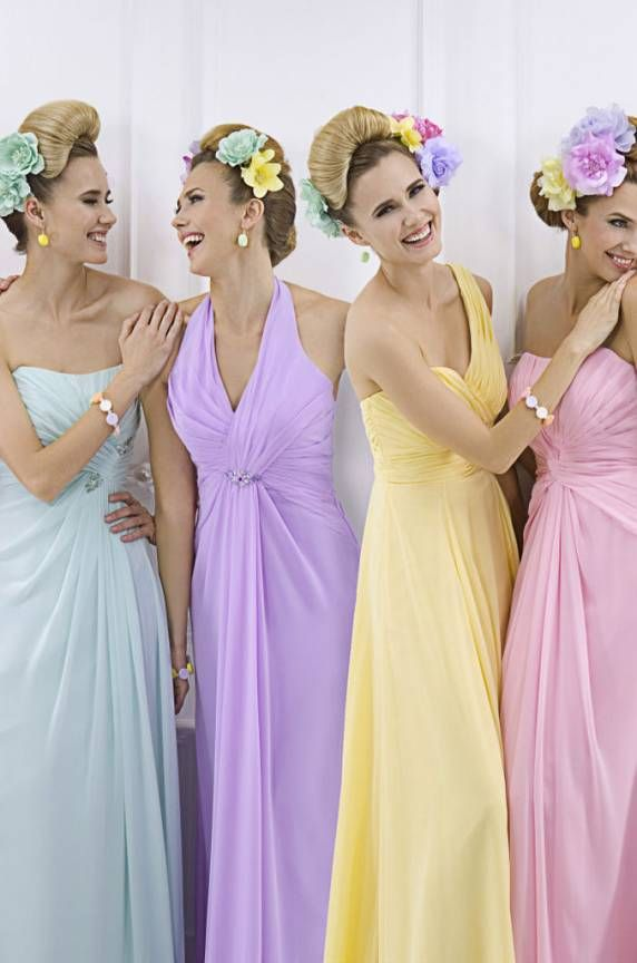 The 8 best Bridesmaids dresses images on Pinterest | Bridesmaid ...