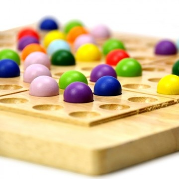 Colorful sudoku