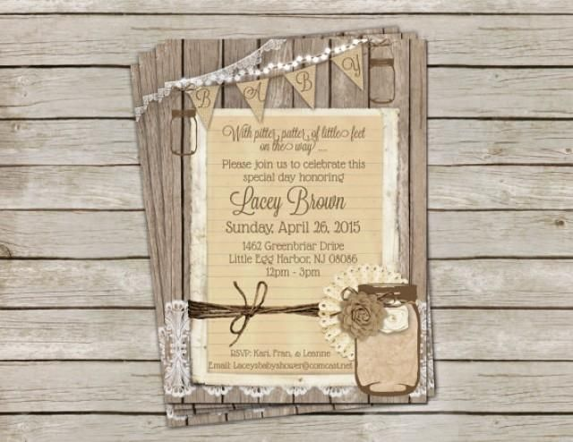54 best baby shower images on pinterest | party desserts, Baby shower invitations