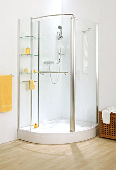 25 best ideas about corner shower units on pinterest corner sink unit small tub and deep for Bathroom corner unit