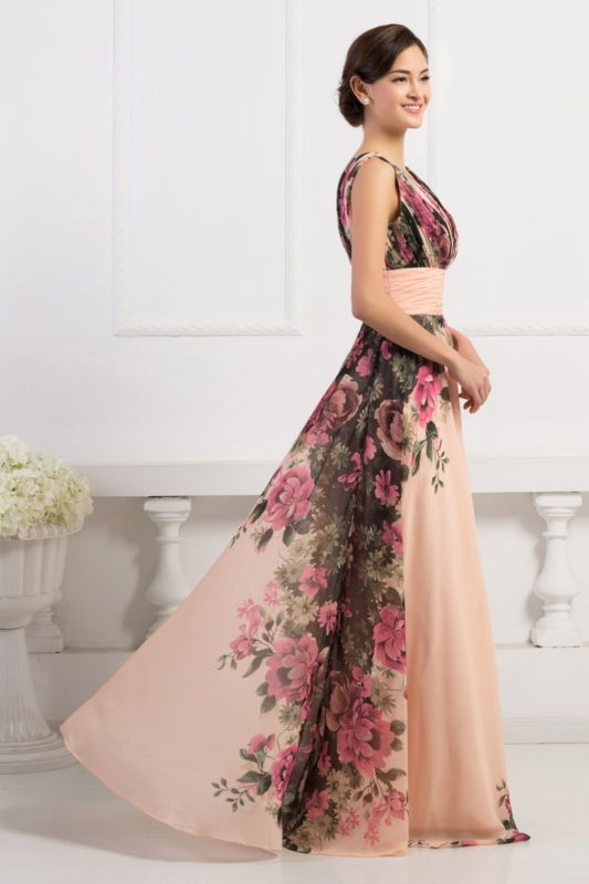 ELEGANT Long Bridesmaid Evening Prom Formal Ball Gown Party MAXI Dress PLUS SIZE