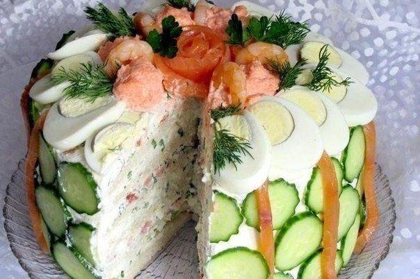 Скандинавский закусочный торт | Школа шеф-повара