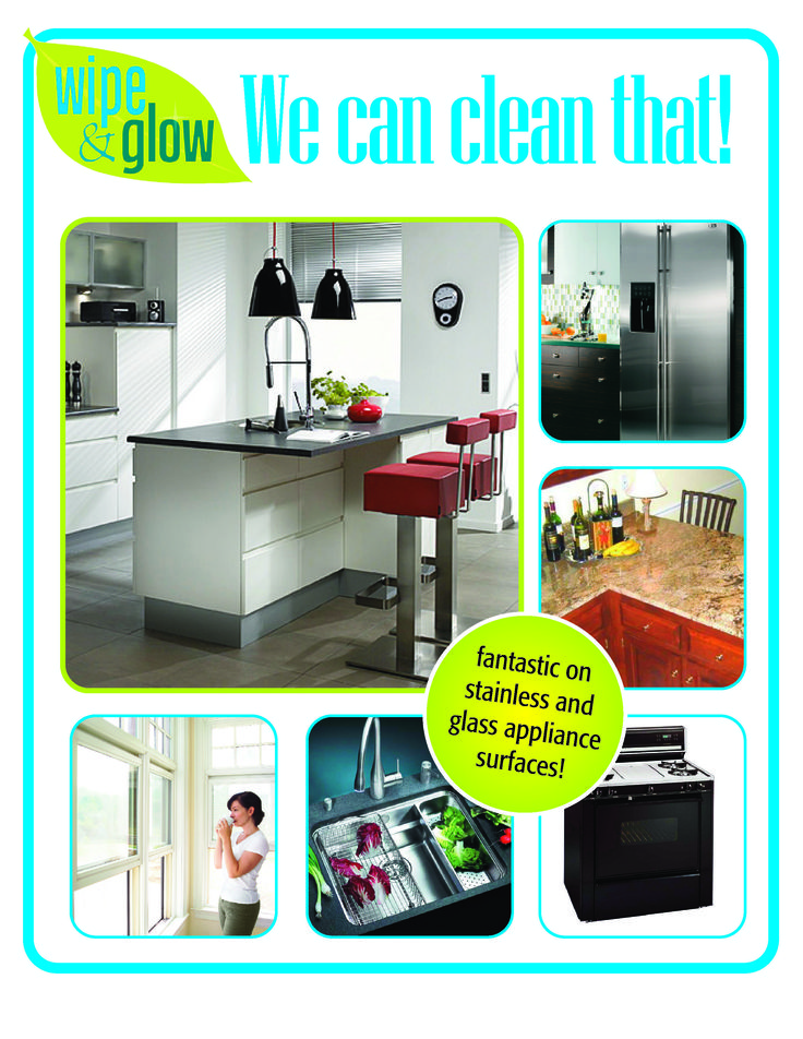 Lint-free, Streak-free, Water Only Washable cleaning cloths All hard surfaces Lasts for years www.wipeandglow.com. Be a Retailer!  1 866 887 1992
