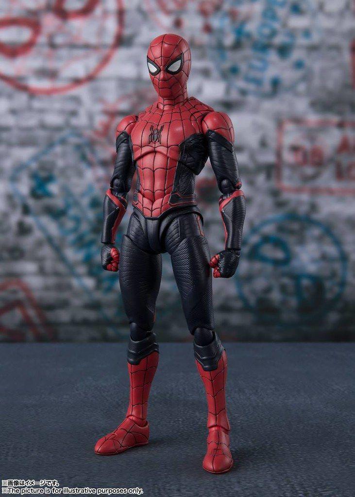 官圖 配件內容更新 今年夏天讓你一個月買一隻蜘蛛人 S H Figuarts 公開來自 蜘蛛人 離家日 漫威蜘蛛人 的三款蜘蛛人 Marvel Action Figures Marvel Spiderman