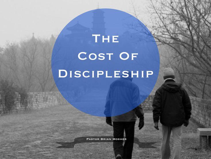 The Cost of Discipleship   Sermon Slides   Pinterest
