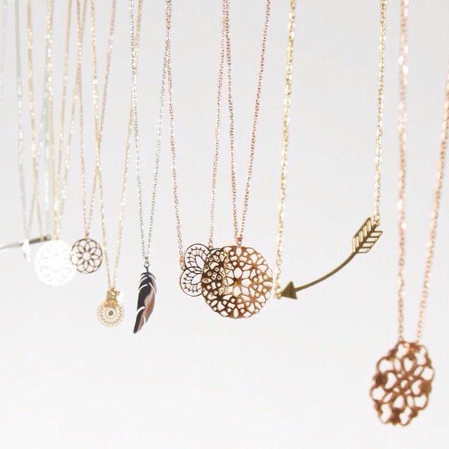 zag bijoux necklaces