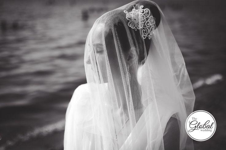 Bride Невеста Фата Свадебная прическа