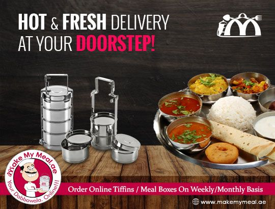 Tiffin Service In Dubai With Your Most Wanted Meals Tiffin Service Tiffin Meal Delivery Service