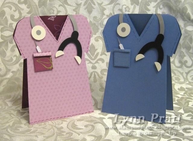 Doctor's Bag & Matching Scrub Shirt Card