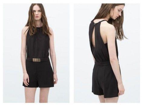 Tuta corta da sera Zara estate 2015