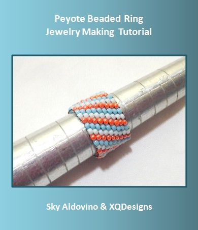 Peyote Stitch For Beginners | for beginners who like to learn Flat Odd-Count Peyote Stitch. Peyote ...