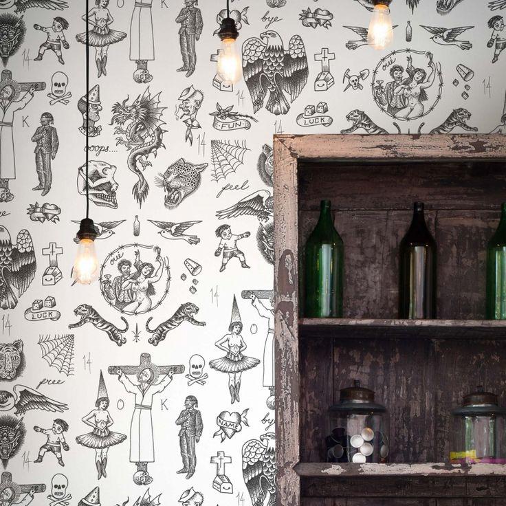Tattoo Flash 01 Wallpaper by Liam Sparkes   FEATHR™