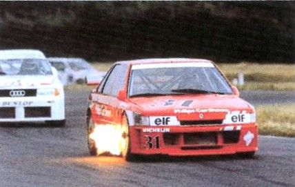 R21 turbo 4x4 de Jean Louis Bousquet n°31