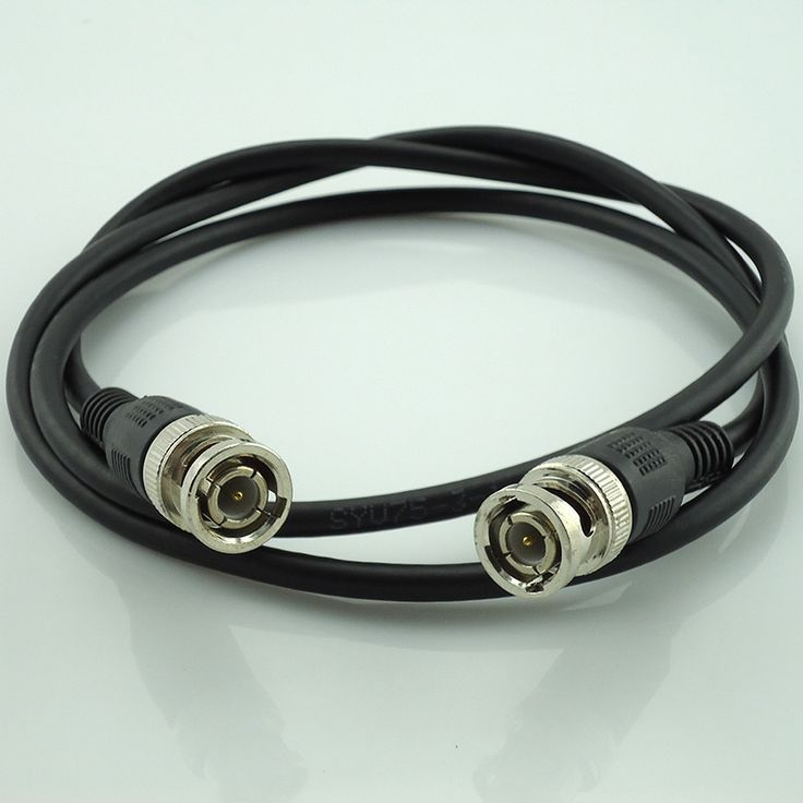 14.74$  Watch now - http://alik9h.shopchina.info/go.php?t=32798288825 - 10 Pcs 1 Meter Rg59 Coax Coaxial Cable Bnc Male Connector To Bnc Connector Male CCTV Cable  #aliexpresschina