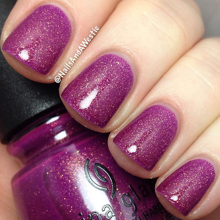"""China Glaze """"We Got The Beet"""" from the Summer 2016 Lite Brites Collection"""