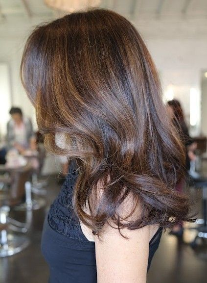 Brunette Hair Highlights | Brunette hair highlights ...