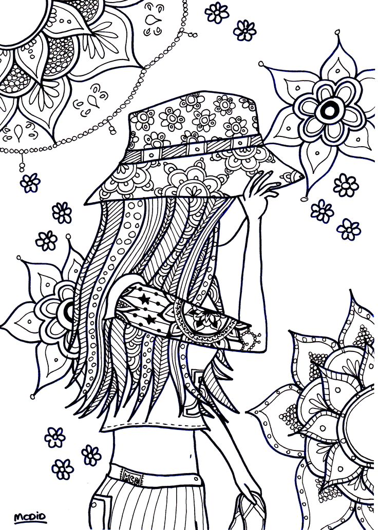 hippie coloring book pages - 72 best hippie art peace signs coloring pages for adults