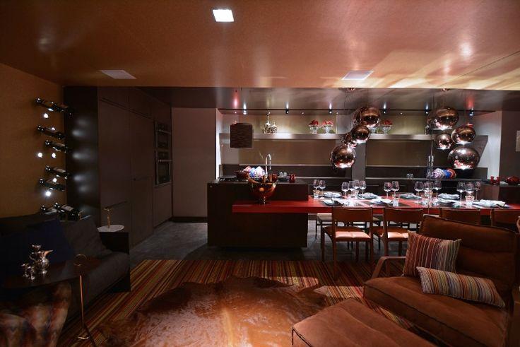 Espaços para receber, salas e cozinhas da Casa Cor RS vão do retrô ao luxo - Casa e Decoração - UOL Mulher