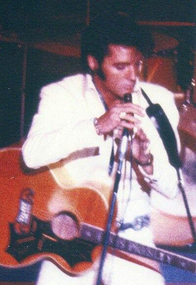August 26, 1969 Elvis Presley in Las Vegas