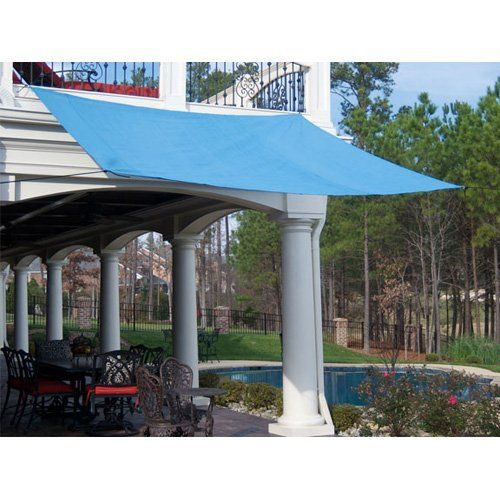 Have to have it. King Canopy 10 ft. Quadrilateral Sun Shade Sail $39.99