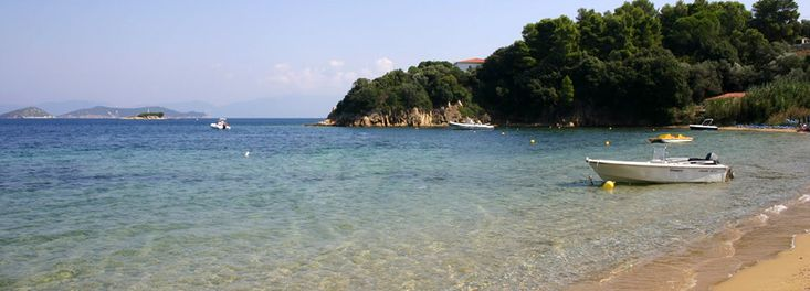 Kanapitsa Beach, Skiathos Island Greece