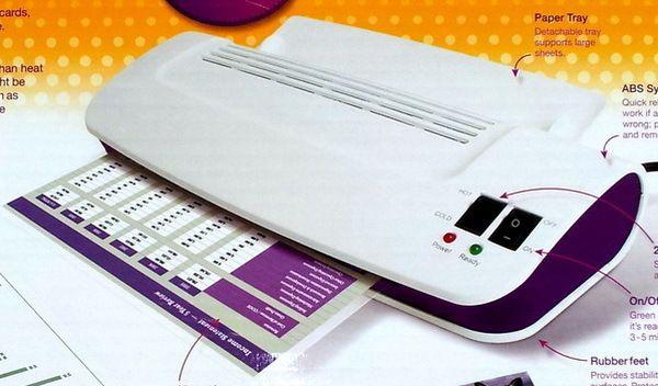 purple cow laminating machine