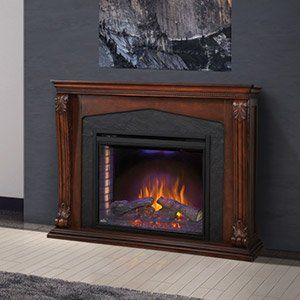 Electric Fireplace Mantel Packages | No Venting Required
