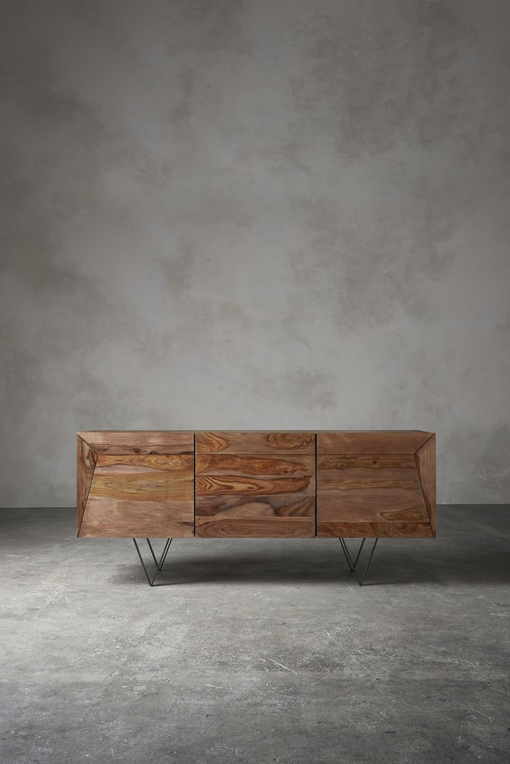 WOODEN SIDEBOARD |  modern furniture for your home |http://www.bocadolobo.com/en/index.php #modernsideboard #sideboardideas