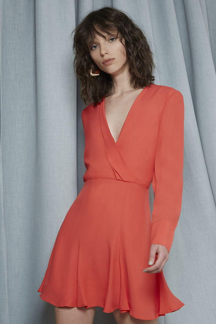 C/MEO COLLECTIVE HOLD TIGHT LONG SLEEVE DRESS