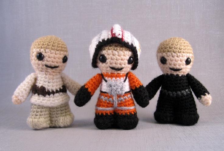 Crochet Pattern Small Amigurumi : PDF of Luke Skywalker - Star Wars Mini Amigurumi Pattern ...