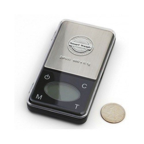 Digital Jewelry Scale Light Slim Touch Screen Crafts Gold Accurate weighing  #SmartWeigh