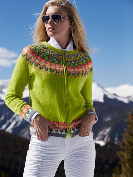 LOVE a MILLION!!! stacey nordic sweater - sweaters - women - Gorsuch