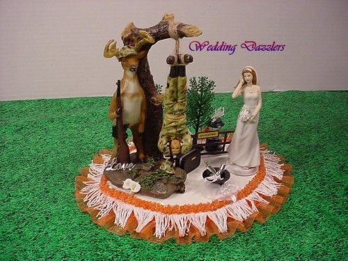 camo wedding cake topper 18 best images about camo wedding cake toppers on 12341