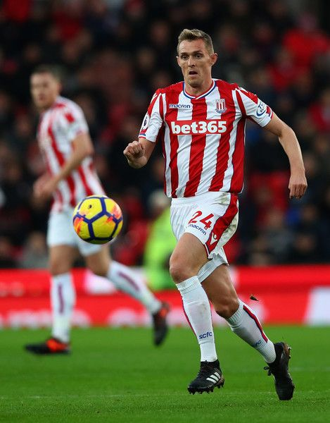 Darren Fletcher of Stoke City in action during the Premier League match between Stoke City and Swansea City at Bet365 Stadium on December 2, 2017 in Stoke on Trent, England.