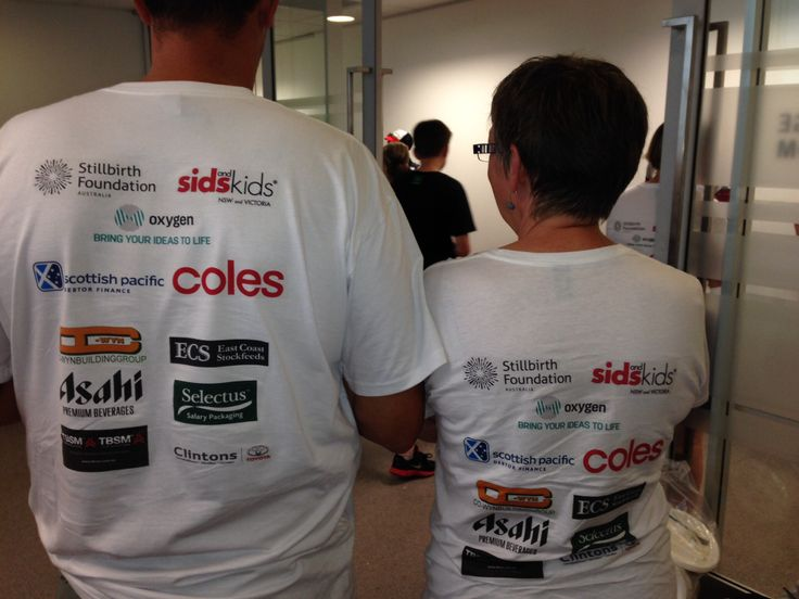 Sponsorship of Sydney to CAMberra ride supporting Stillbirth Foundation and SIDS and Kids
