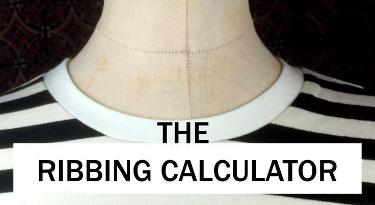 The ribbing calculator - The Last Stitch