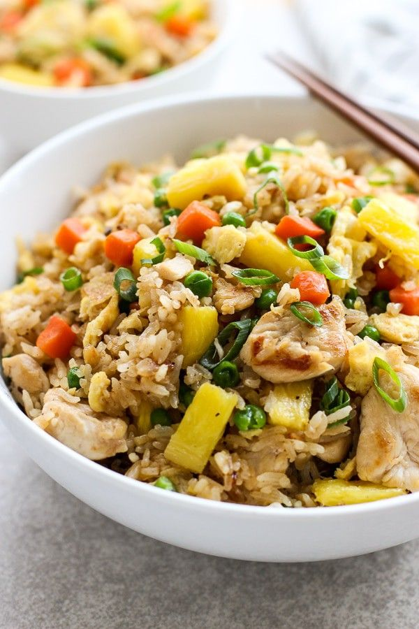 Thai Pineapple Fried Rice Recipe Fried Rice Thai Pineapple Fried Rice Pineapple Fried Rice