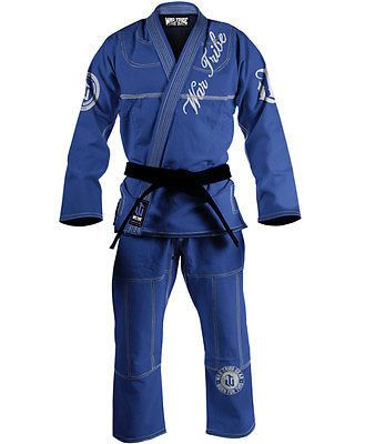 War Tribe Women's GI Blue/White Jiu Jitsu Judo Training and Competition