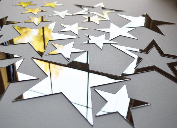 twinkle twinkle little star mirror wall decal mirror by colorpan