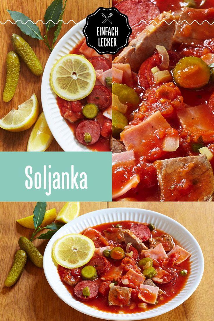 Soljanka | Rezept (mit Bildern) | Deutsche küche rezepte