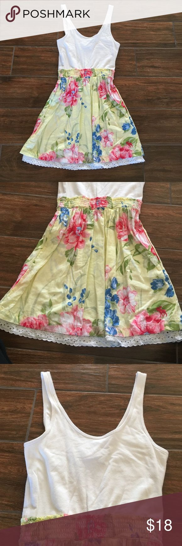 Floral Abercrombie and Fitch dress. Size medium. Floral Abercrombie and Fitch dress. Size medium. Only worn a few times. Abercrombie & Fitch Dresses Midi